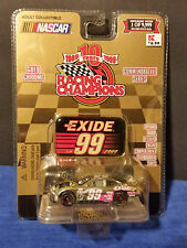 1999 Racing Champions Gold Chrome 1 of9,999 #99 Jeff Burton Exide