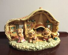 Vintage Pendelfin Kitchen Display & 3 Pendelfin Rabbits V.G. P/O Cond.