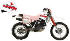 adesivi serbatoio forati Dream3 Blackbird Yamaha TT 600 1983 - 1992 bianco rosso