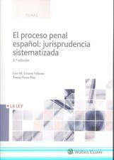 EL PROCESO PENAL ESPAÑOL: JURISPRUDENCIA SISTEMATIZADA. ENVÍO URGENTE (ESPAÑA)