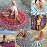 Boho Mandala Round Hippie Towel Indian Tapestry Beach Picnic Throw Blanket Mat