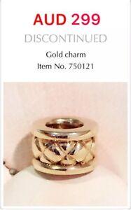 PANDORA   GENUINE 14k Gold Charm, 750121