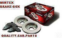 ROVER MG-ZR MINTEX FRONT BRAKE DISCS & PADS 01->05 V
