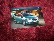 Catalogue /  Brochure OPEL Corsa 2010 (icl: OPC) //