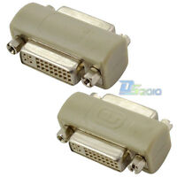 DVI-I 24+5 pin Female to DVI-I Female Jack Coupler Extension Adapter Converter
