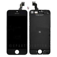 iPhone 5C  Black Front LCD Display Touch Sreen Digitizer Mid Frame Assembly Part