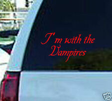 Twilight with the vampires window sticker decal vinyl