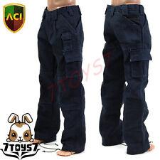 ACI Toys 1/6 Moda 739_ Navy Blue Cargo Pants _PMC Military Adventure Now  AT020O