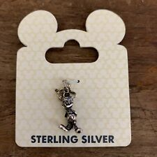 Disney Parks Authentic Sterling Silver Mickey Mouse Charm Figure New! Original