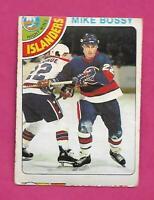 1978-79 OPC # 115 ISLANDERS MIKE BOSSY  ROOKIE GOOD CARD (INV# C1786)