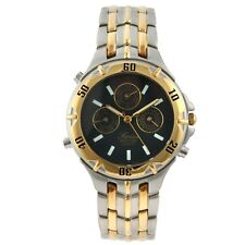 Swiss Edition Stainless Steel & Plated Multi-function Sport Watch