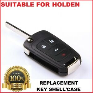 4B Remote Flip Car Key Shell suitable for Holden Commodore VF 2013 2014 2015 16