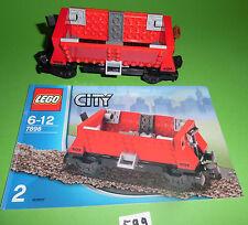 Lego City treno carro merci tramoggia 7898 - cantiere, raro (no 7939)