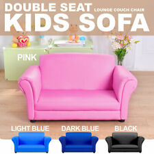 Double Kids Toddler Sofa Lounge Couch Chair Seat Brand New