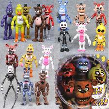 Five Nights at Freddy's Bunnie Game Action Figures Toys Set FNAF 5 Nights BULK