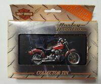RARE HARLEY DAVIDSON LIMITED EDITION IN TIN PLAYING CARDS 2 DECKS SEALED 1999