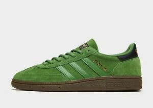 adidas Originals Spezial SPZL in Green and Black Suede Trainers