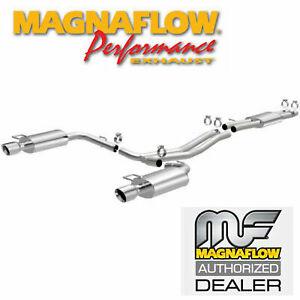 MAGNAFLOW Cat-Back Dual Exhaust Kit 2013-2015 Ford Explorer Sport 3.5L Ecoboost