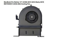 "MacBook Pro Retina 13"" A1502 2013 2014 Early 2015 MG70050V1-C03C-S9A Cooling Fan"