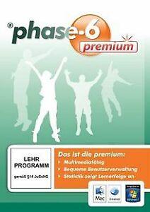 phase-6 premium Version 2.1 (PC+MAC) von Langenschei... | Software | Zustand gut