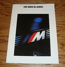 Original 1990 BMW M-Series Sales Brochure 90 M3 M5
