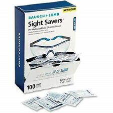 Bausch + Lomb Sight Savers Pre-Moistened Lens Cleaning Tissues, 100 Count Box