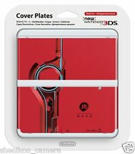 Brand New Xenoblade Red Cover Plate Faceplate For New Nintendo 3DS No. 059
