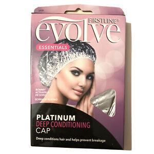 (5) Firstline Evolve Essentials Platinum Deep Conditioning Hair Caps Thermal