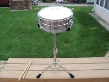 Hunter snare drum with stand carry bag and drum sticks