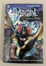 Batgirl Volume 2 Knightfall Descends Hardcover 2013 Gail Simone Ardian Syaf