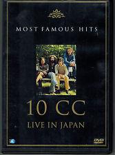 DVD 10cc – Live In Japan,FSK O , MCPS Ltd. – 8521 Germany 2003