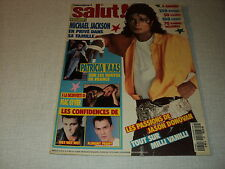 SALUT 1989/060 (28/2/90) PATRICIA KAAS MICHAEL JACKSON RICHARD DEAN ANDERSON