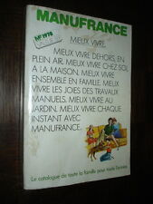 CATALOGUE MANUFRANCE 1978