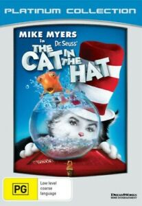 Dr. Suess' The Cat in the Hat DVD Brand New & Sealed