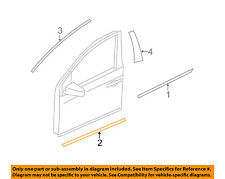 NISSAN OEM 09-14 Murano Front Door-Lower Molding Trim Left 808711AA2B