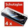 4x iPhone 12 Pro Max Mini 9D GLAS Panzerfolie FULL COVER Schutz Schutzglass