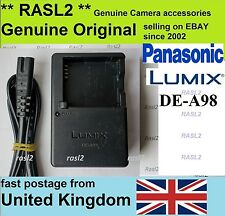 Genuino Caricatore Panasonic Lumix DE-A98 DMC-LX100 LX10 LX15 GX80 GX85 GM1 GM5