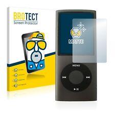 2x Apple iPod nano (4th generation) Matte Screen Protector Protection Film Anti
