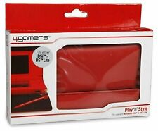 4Gamers Play 'n' Style (Nintendo DS / NINTENDO DSi / DS Lite) - rouge-cuir comme