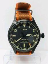 NEW TIMEX ARCHIVE WATERBURY TW2U00500LG Fabric Orange Black Watch