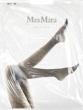 MAX MARA Women's Acuto Black Polka Dot Pantyhose $35 NEW