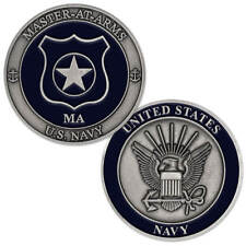 New U.S. Navy Master At Arms (Ma) Challenge Coin.
