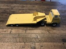 Vintage Tonka Toys Tin Plate Articulated Truck & Trailer Set Large Scale ⭐️⭐️⭐️