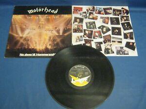 RECORD ALBUM MOTORHEAD NO SLEEP TIL HAMMERSMITH 2629