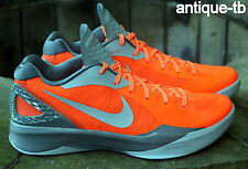 NIKE ZOOM HYPERDUNK 2011 LOW PE MENS 13 NEW 487637 800 ORANGE LE DS FLYWIRE RARE