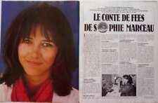SOPHIE MARCEAU => COUPURE DE PRESSE 2 pages 1981 / CLIPPING