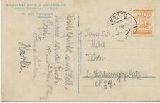 """ÖSTERREICH ORTSSTEMPEL """"MORZG"""" (Salzburg) sehr selt. K2 a. Pra.-AK, 1928"""