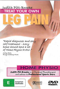 Treat Your Own Leg Pain -Educational DVD Series Rare Aus Stock New Region ALL