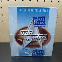 1995 Star Trek Next Generation Sky Box Collectible Cards Sealed-Season Two-36pks