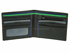 Visconti Mens Gents Bifold Leather Wallet For Credit Cards / Banknotes - BD707